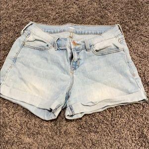 Old Navy Light Blue Wash Jean Shorts